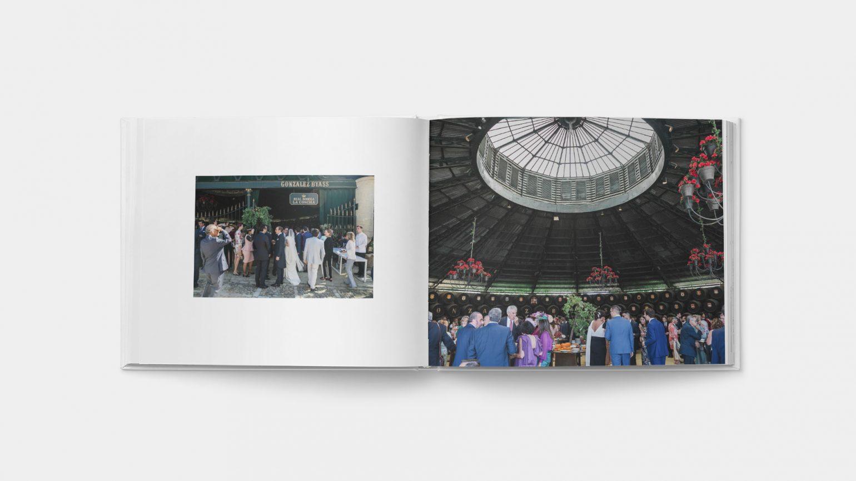 Fotos de boda en la real bodega de la concha